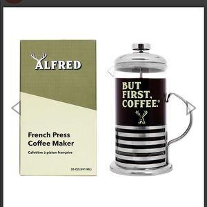 NIB Alfred Coffee abut First Coffee French Press